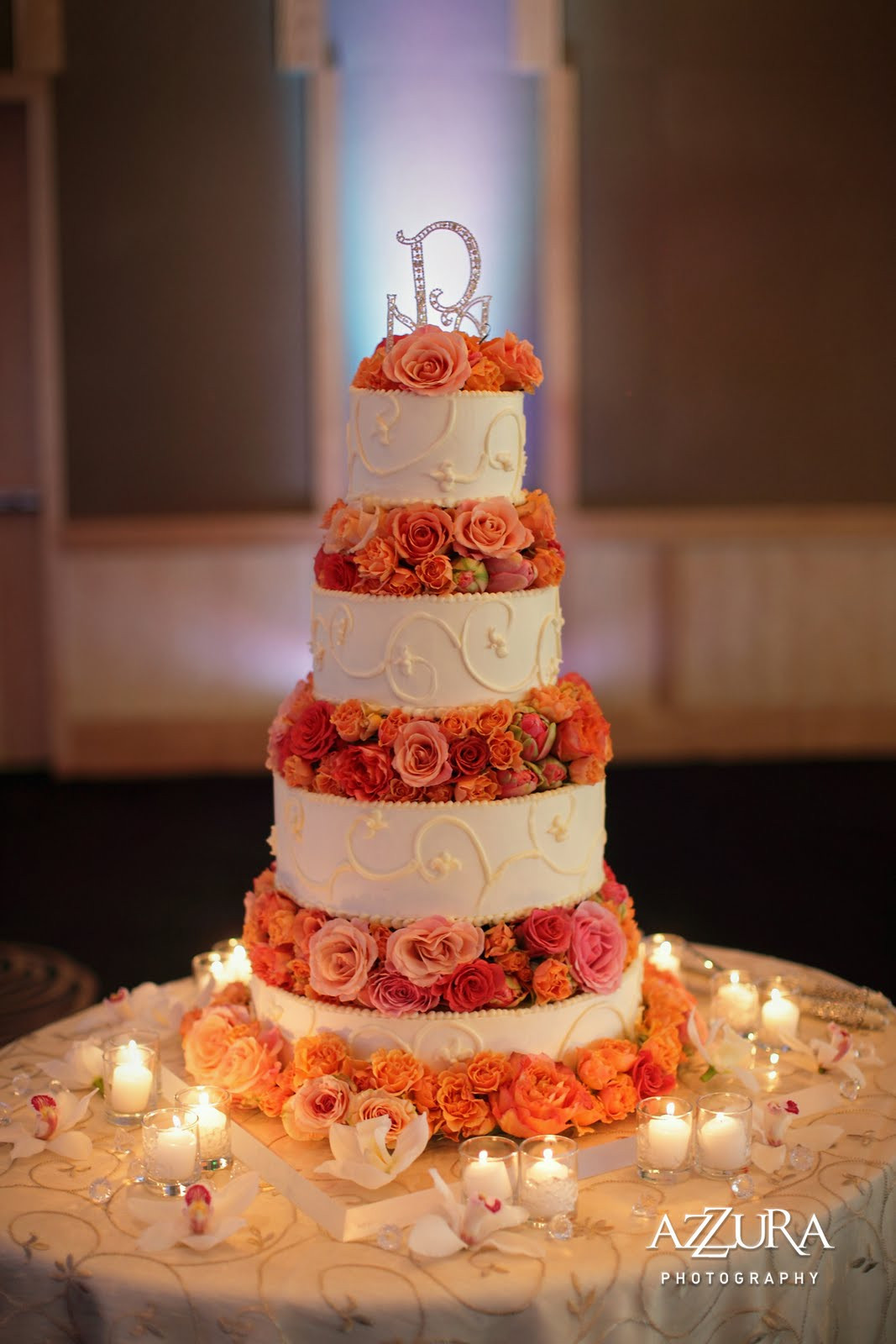 Coral Wedding Cakes  Wedding Tip Thursday Things to ask your Florist