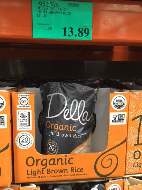 Costco Organic Brown Rice  Costco New Organic Products I Found May 2016 Natural