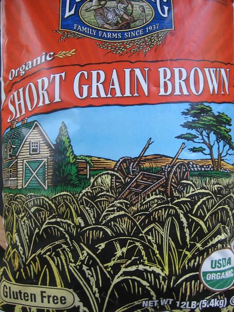 Costco Organic Brown Rice  Worlds collide series Risotto Costco organic brown rice