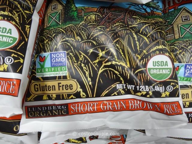 Costco Organic Brown Rice  Lundberg Farms Organic Short Grain Brown Rice