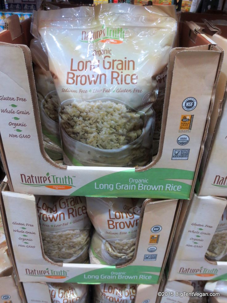 Costco Organic Brown Rice  1000 images about Vegan at Costco on Pinterest