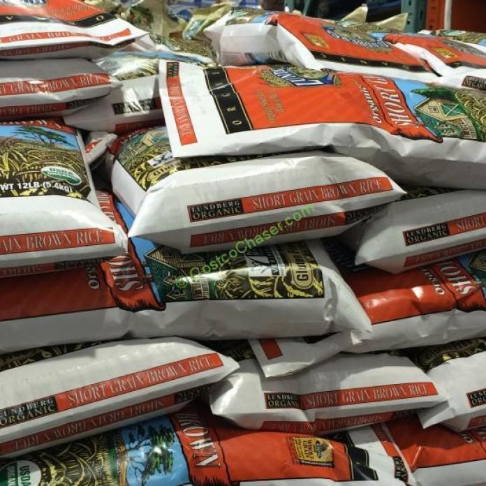 Costco Organic Brown Rice  Organic Lundberg Short Grain Brown Rice – CostcoChaser