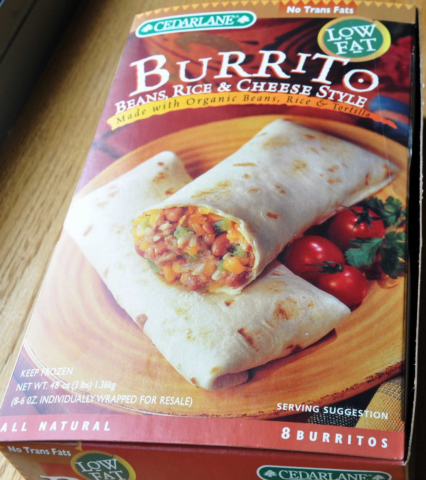 Costco organic Burritos Best 20 Product Review Cedarlane Beans Rice & Cheese Style