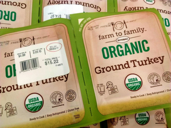 Costco Organic Ground Turkey  Costco Food Finds for May 2017 Eat Like No e Else