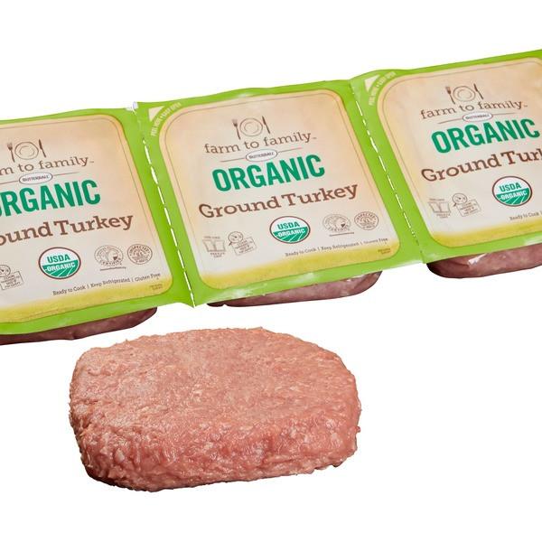 Costco Organic Ground Turkey  Farm to Family Organic Ground Turkey each from Costco