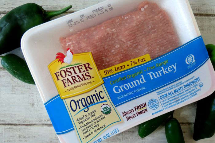Costco Organic Ground Turkey  Spicy Turkey Chili