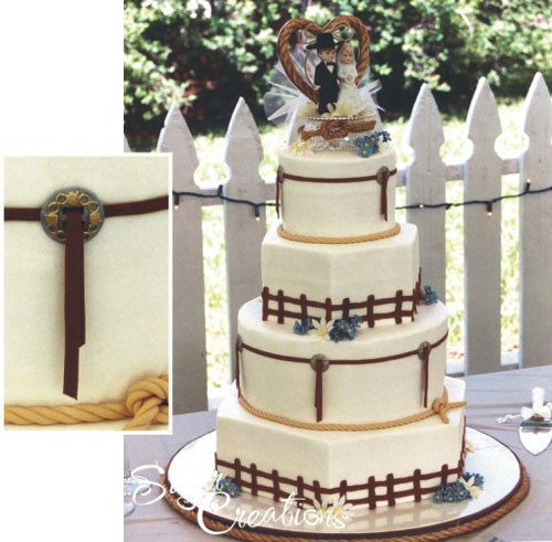 Country Style Wedding Cakes  Country Wedding Cakes