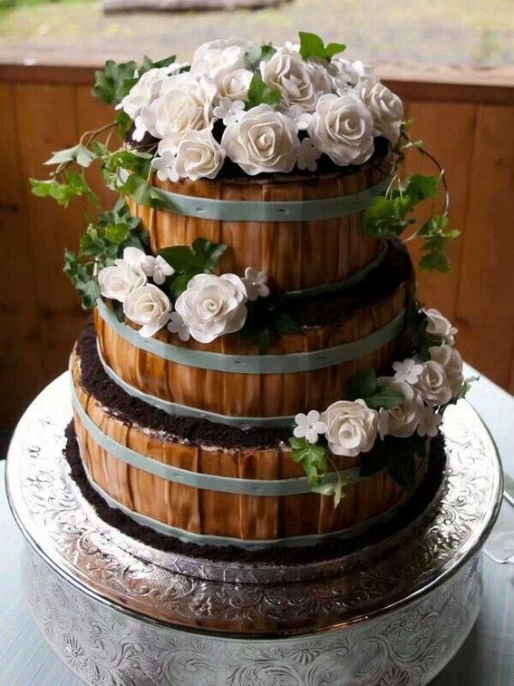 Country Style Wedding Cakes  Top 16 Rustic Style Wedding Cakes for Your Country Wedding