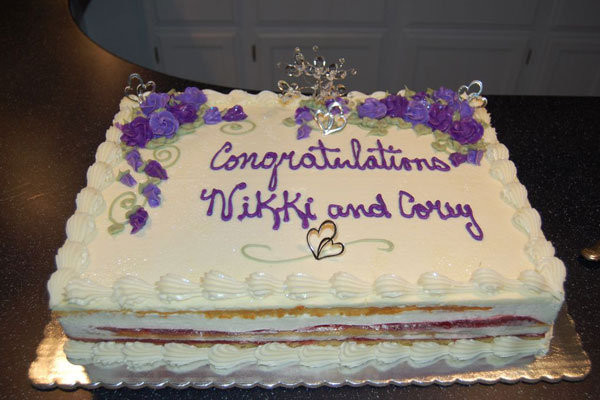 Couples Wedding Shower Cakes  Would You Throw a Coed Bridal Shower