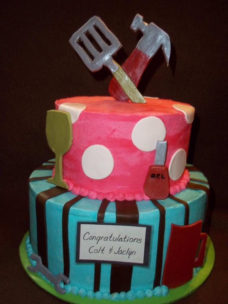 Couples Wedding Shower Cakes  Couples Shower Cake Couple s Shower Ideas