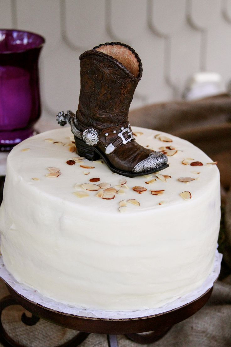 Couples Wedding Shower Cakes  43 best Rustic Couple s Shower and Wedding images on