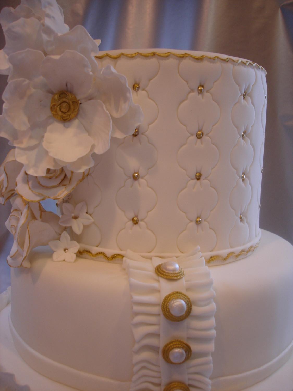 Coutoure Wedding Cakes  Couture wedding cake