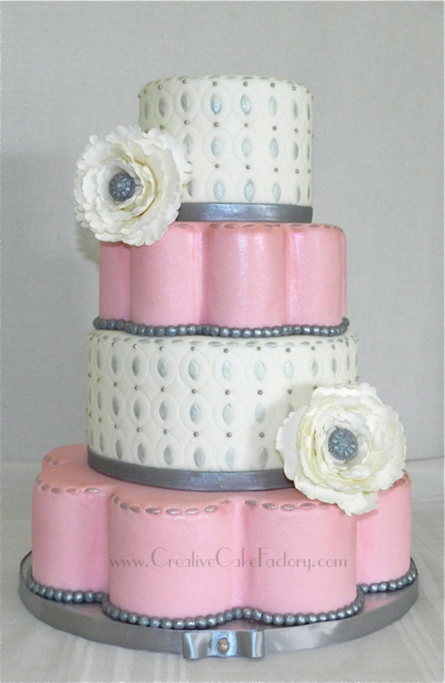 Coutoure Wedding Cakes  Couture Wedding Cake CakeCentral