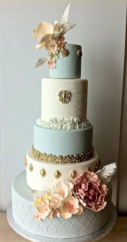 Coutoure Wedding Cakes  Couture wedding cake Cake Decorating