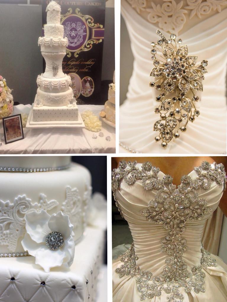 Coutoure Wedding Cakes  Efeford Weddings Elegant Wedding cakes