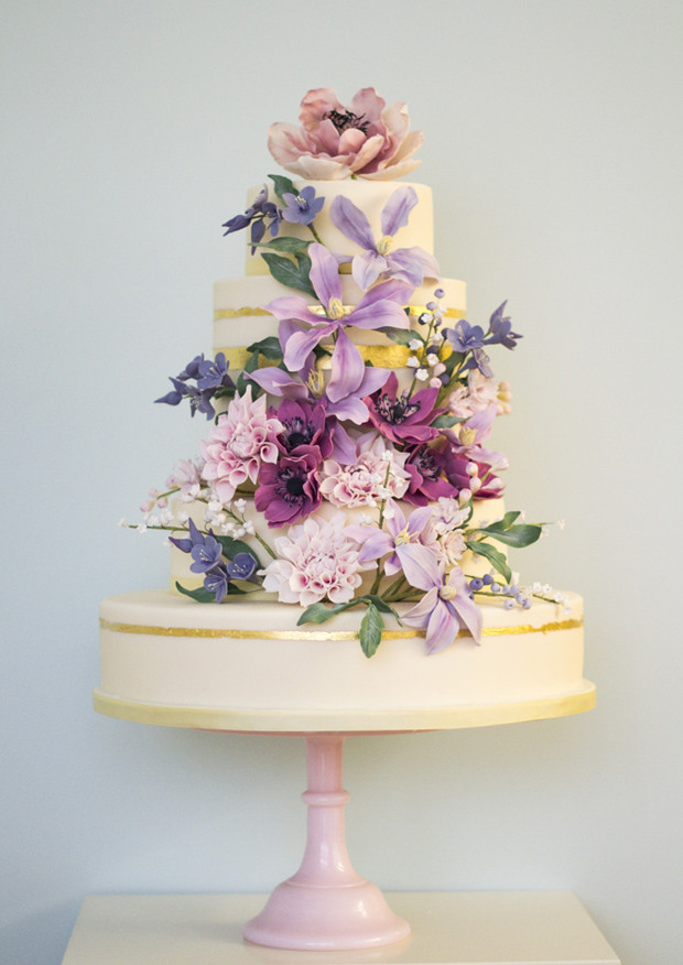 Coutoure Wedding Cakes  Floral Couture Wedding Cake Trend