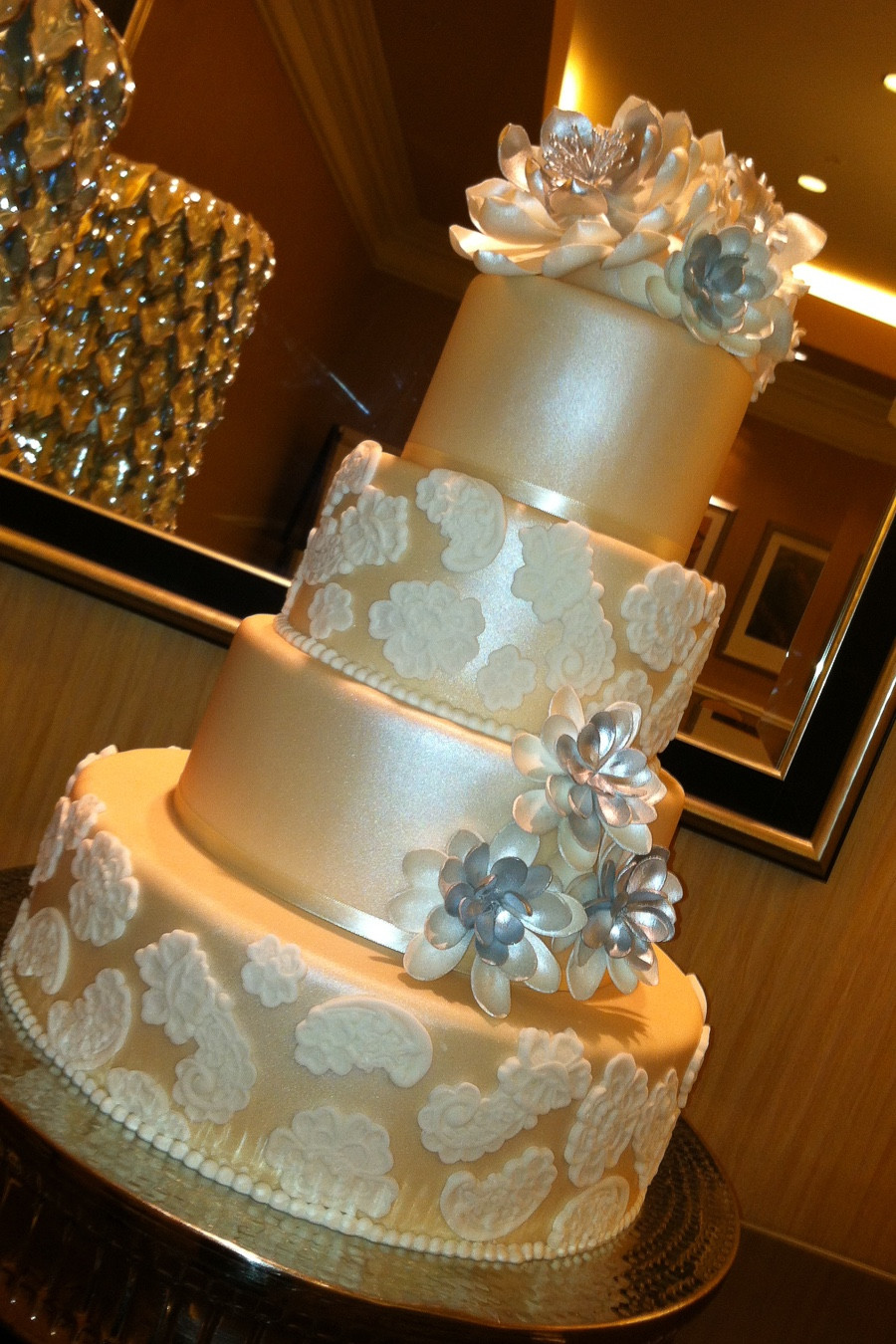 Coutoure Wedding Cakes  Couture Cakes by Lia