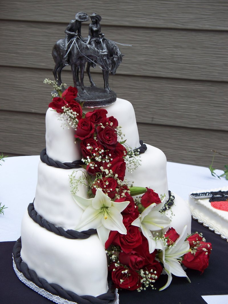 Cowboy Wedding Cakes  cowboy wedding cake by socialclash on DeviantArt