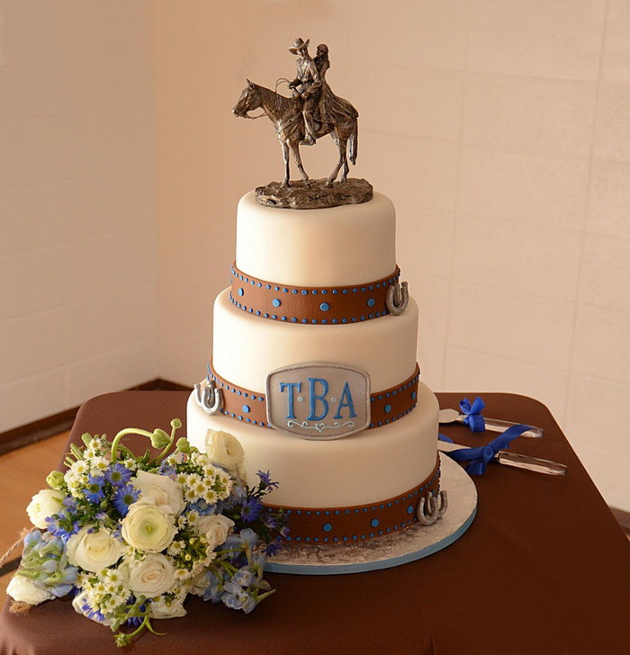 Cowboy Wedding Cakes  Ideas for a Western Wedding Cake Unusual Wedding