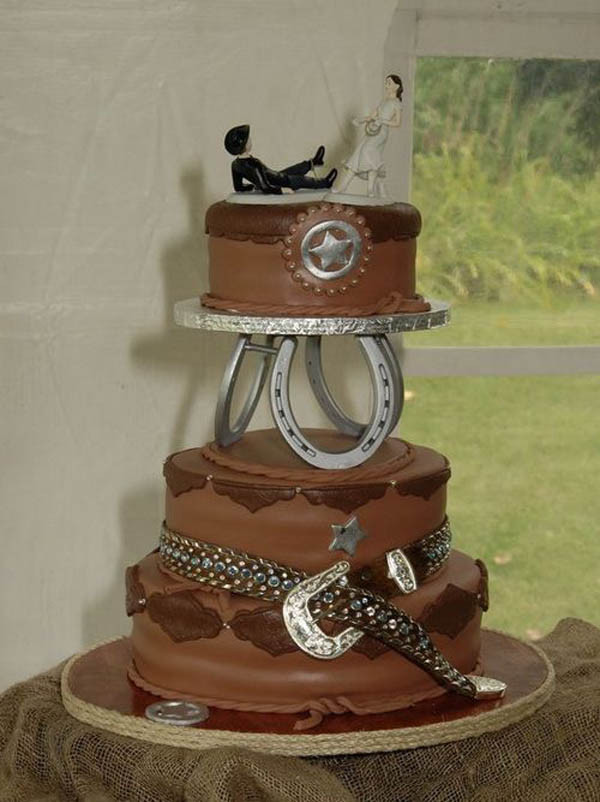 Cowboy Wedding Cakes  22 Wedding Cake Ideas and Wedding Cake Designs with