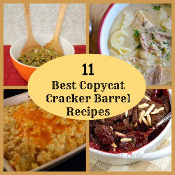 Cracker Barrel Easter Dinner  21 Best Copycat Cracker Barrel Recipes
