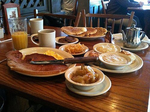 Cracker Barrel Healthy Breakfast  Breakfast at Cracker Barrel