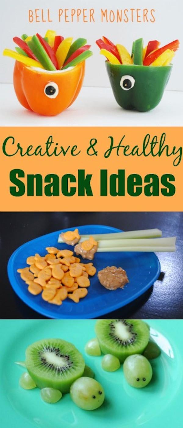 Creative Healthy Snacks  Creative and Healthy Snack Ideas