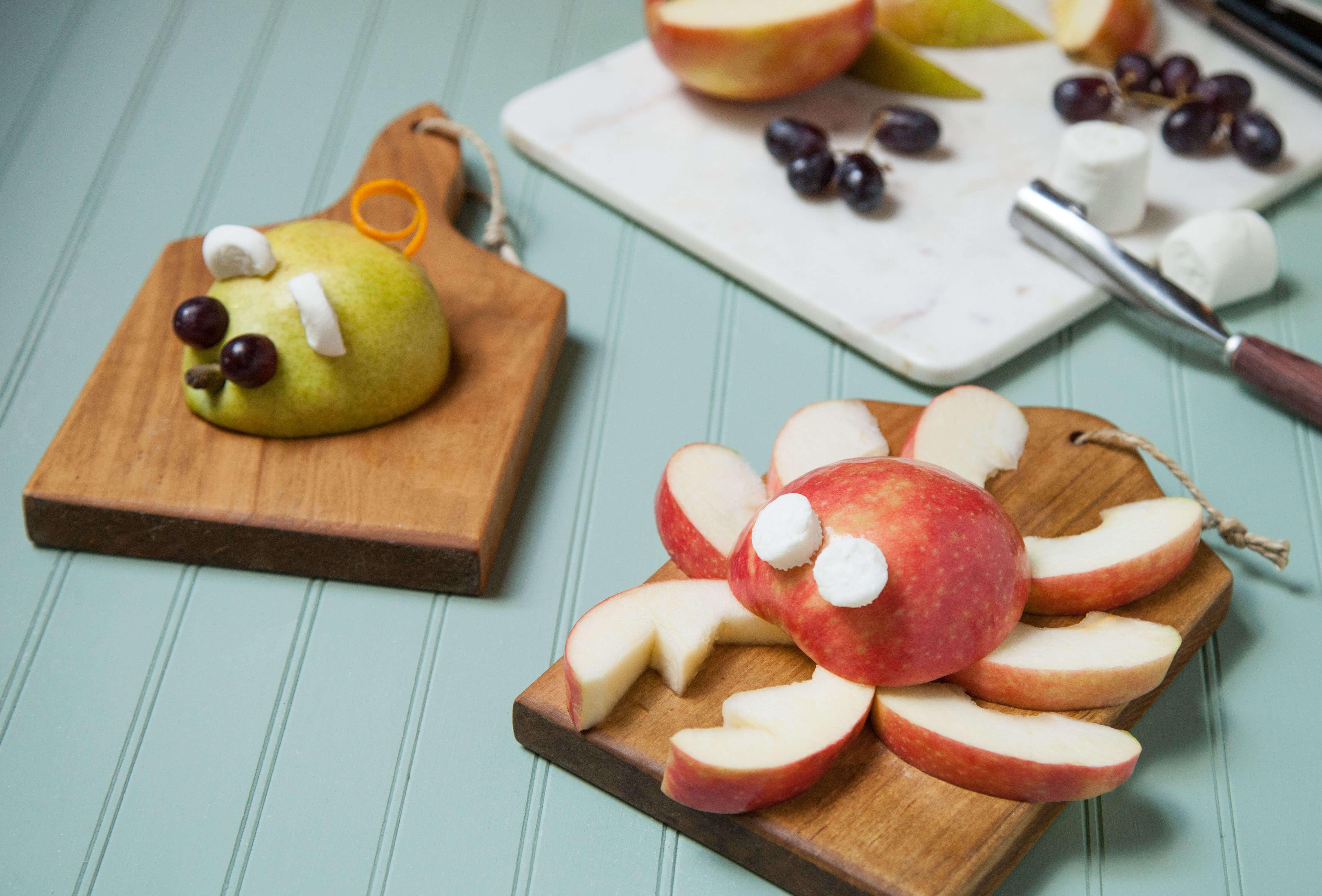 Creative Healthy Snacks  3 Creative & Healthy Kids Snack Ideas