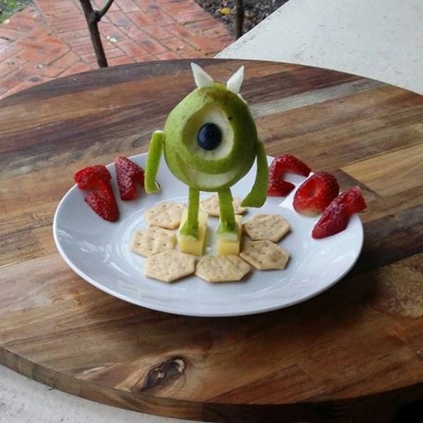 Creative Healthy Snacks  Creative Food Art Design Ideas Transforming Healthy Food