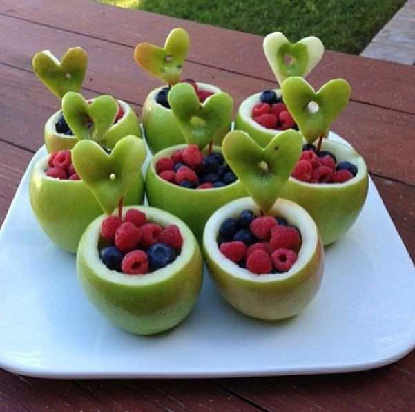 Creative Healthy Snacks  Creative healthy idea for the kids or adults