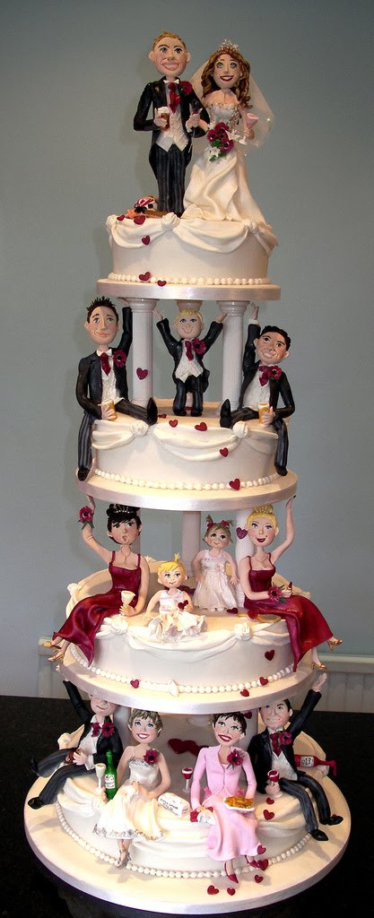 Creative Wedding Cakes  27 Unique Wedding Cakes — Austin Wedding Blog
