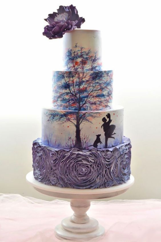 Creative Wedding Cakes  42 Eye Catching Unique Wedding Cakes