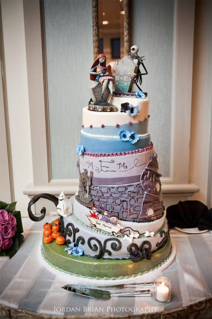 Creative Wedding Cakes  45 Creative Wedding Cake Designs You Don t See ten