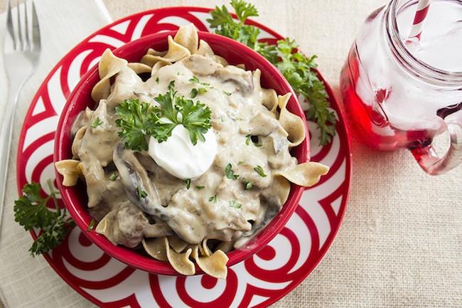 Crock Pot Beef Stroganoff Healthy  55 Tastiest Healthy Slow Cooker Recipes