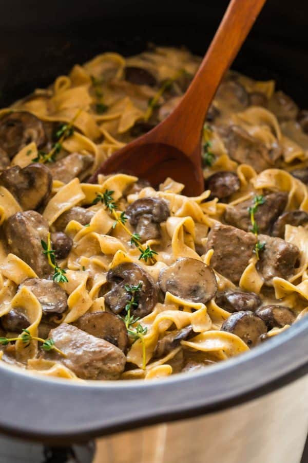 Crock Pot Beef Stroganoff Healthy the 20 Best Ideas for Slow Cooker Beef Stroganoff From Scratch