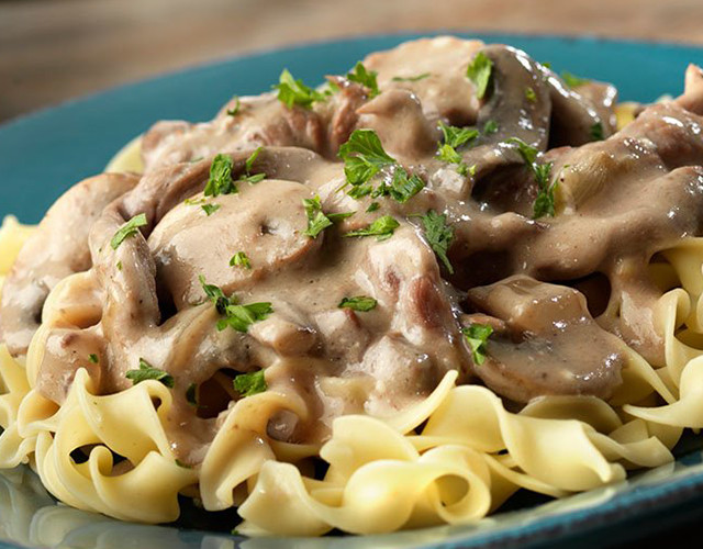 Crock Pot Beef Stroganoff Healthy  Yummy Mommies meal receipts & list of dishes and heart