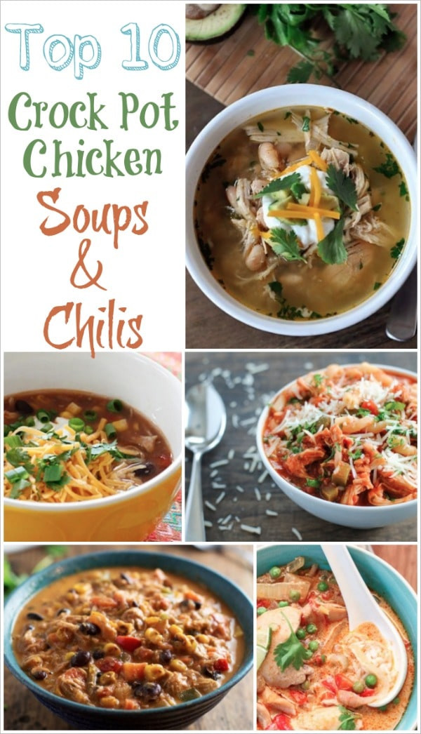 Crock Pot Chicken Soup Recipes Healthy  Easy crock pot healthy soup recipes Food easy recipes