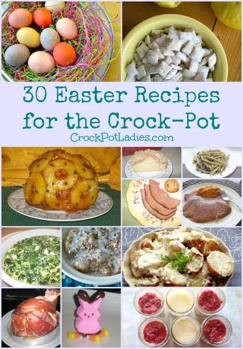 Crock Pot Easter Dinner  30 Easter Recipes For The Crock Pot