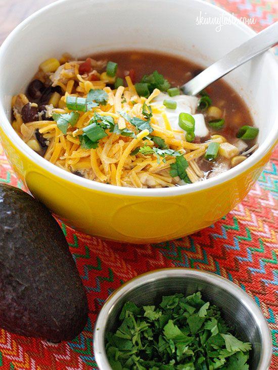 Crockpot Chicken Enchiladas Healthy  80 best images about 300 600 calorie meals Isagenix on