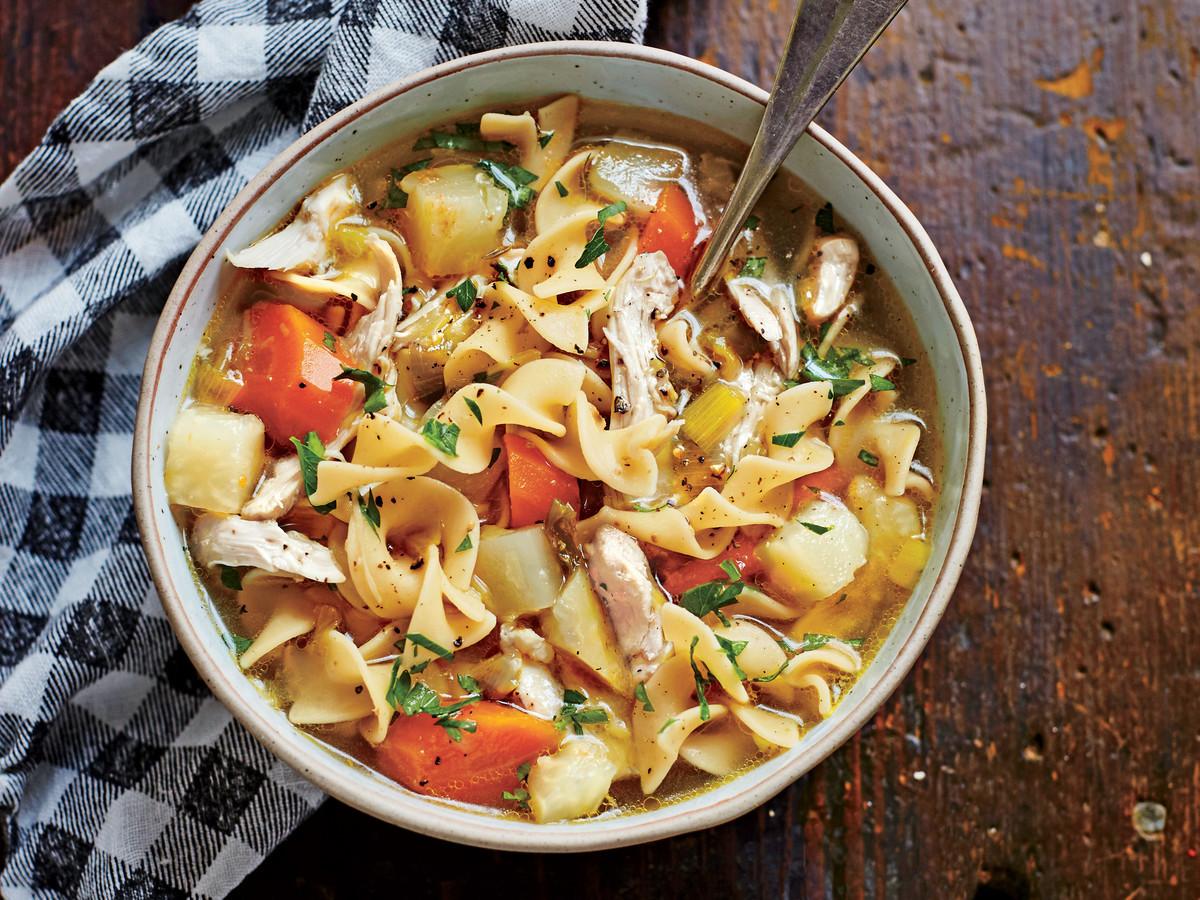 Crockpot Chicken Soup Recipes Healthy  Healthy Crock Pot Recipes Southern Living