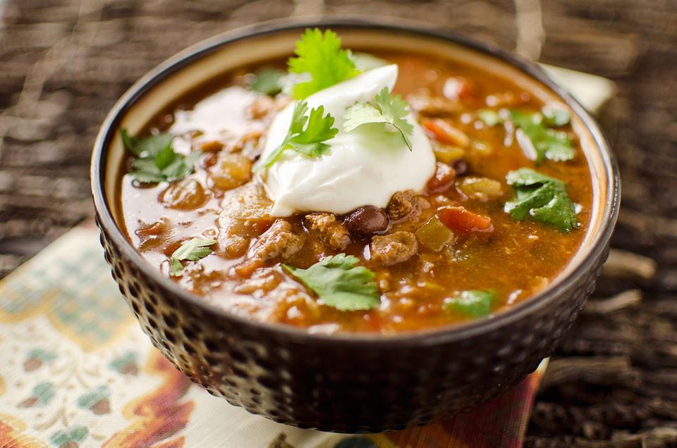 Crockpot Soups Healthy  Healthy Crock Pot Taco Soup
