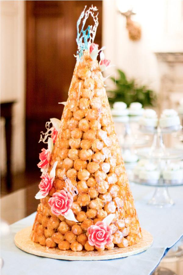 Croquembouche Wedding Cakes  Bridal Bubbly Croquembouche French Wedding Cake