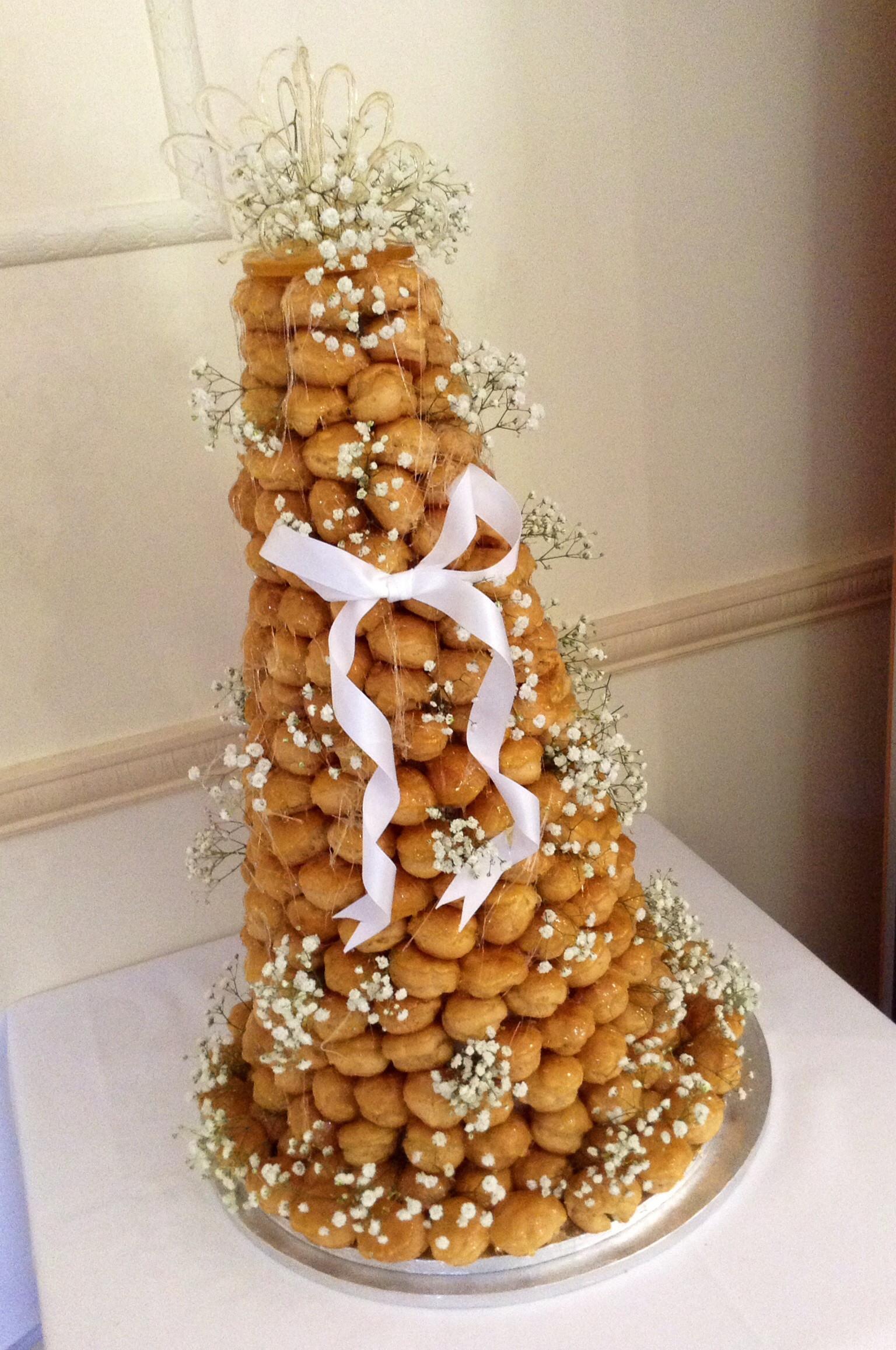 Croquembouche Wedding Cakes  Croquembouche wedding cake idea in 2017