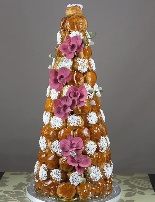 Croquembouche Wedding Cakes  Wedding Croquembouche the French wedding cake