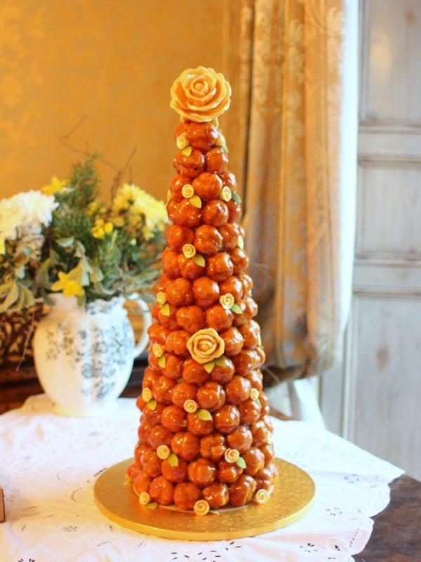Croquembouche Wedding Cakes  croquembouche french wedding cake
