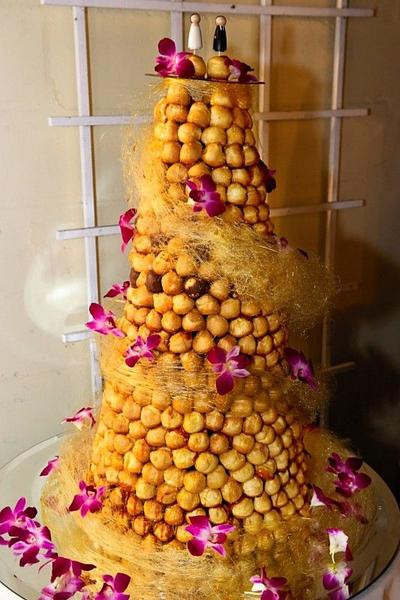 Croquembouche Wedding Cakes  Top 5 French Wedding Croquembouches – Candy Cake Weddings