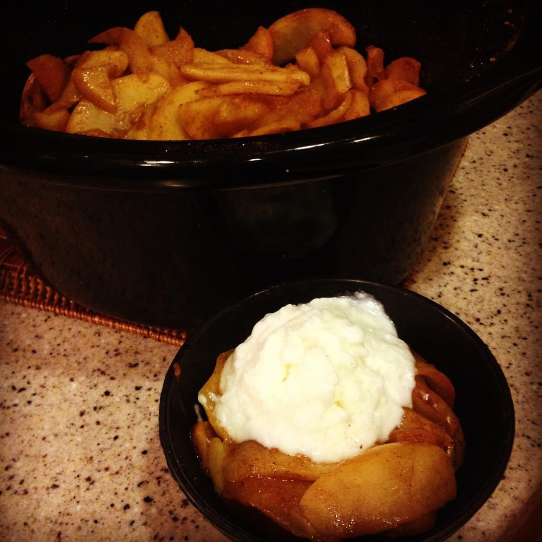 Crustless Apple Pie Healthy  Sunday Spotlight 60