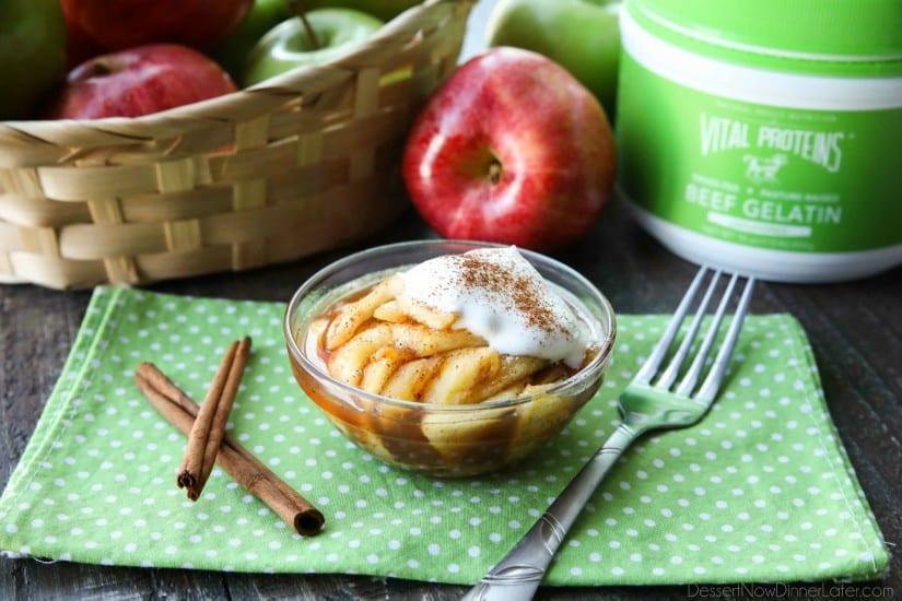 Crustless Apple Pie Healthy  healthy crustless apple pie