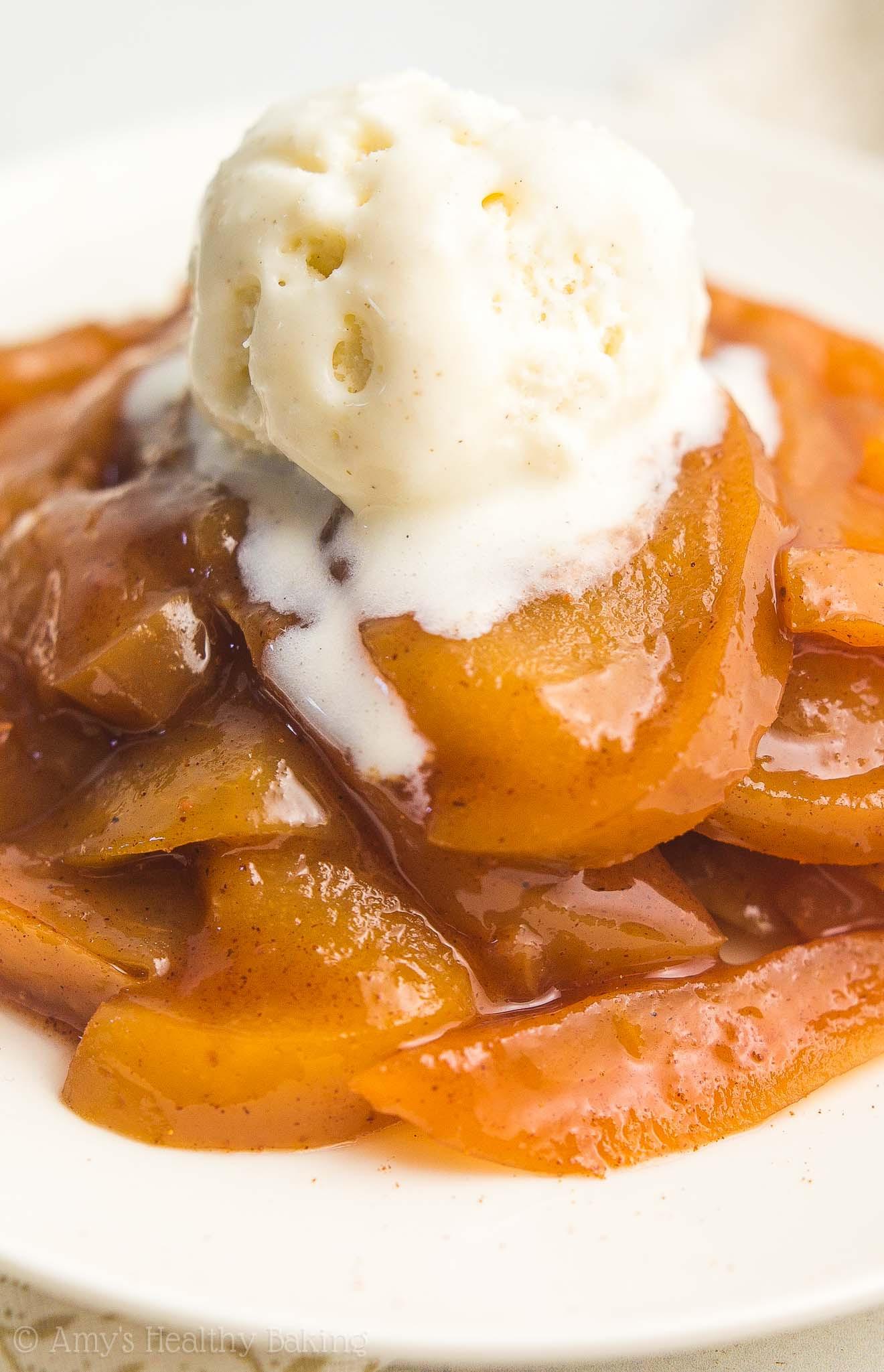 Crustless Apple Pie Healthy  Healthy Slow Cooker Crustless Apple Pie à la Mode