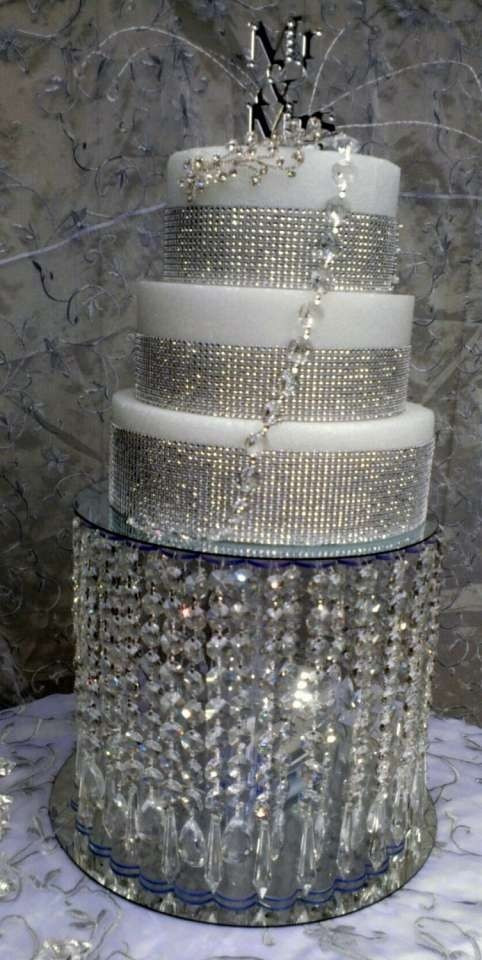Crystal Cake Stands For Wedding Cakes  Wedding Crystal Acrylic Cake Stand